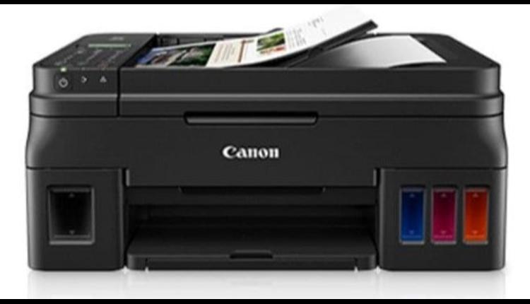 Siplah Printer Canon G4010 Print Scan Fotocopy F4 Infus Asli Wifi
